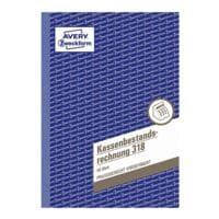Avery Zweckform Formularbuch »Kassenbestandsrechnung«