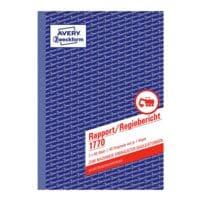 Avery Zweckform Formularbuch »Rapport/Regiebericht 1770«