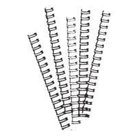 Ibico Drahtbinderücken - 21 Ringe/8 mm