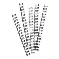 Ibico Drahtbinderücken - 21 Ringe/12 mm