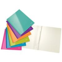 Leitz 6x Schnellhefter »WOW 3001« A4, Fassungsvermögen 250 Blatt, farblich sortiert