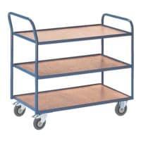 ROLLCART Tischwagen mit 3 Etagen »37 kg«