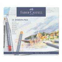 Faber-Castell 24er-Pack Aquarellstifte »Goldfaber Aqua«