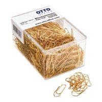 OTTO Office Büroklammern 26mm, goldfarben, 500 Stück