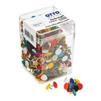 OTTO Office Reißnägel, farbig sortiert - 750 Stück