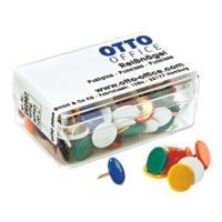 OTTO Office Reißnägel, farbig sortiert - 100 Stück
