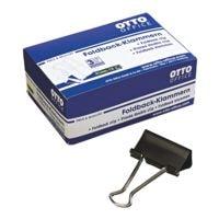 OTTO Office Foldback-Klammern 41 mm, schwarz