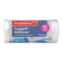 Profissimo Müllbeutel 20 L weiß - 40 Stück