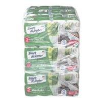 Sanft & Sicher Toilettenpapier 72 Rollen (9 Pack à 8 Rollen) Recycling 3-lagig, weiß - 72 Rollen (9 Pack à 8 Rollen)