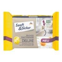 Sanft & Sicher Feuchtes Toilettenpapier »Deluxe Kamille«
