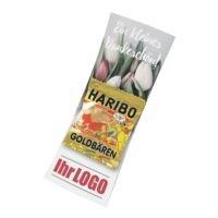 Individualisierbare Flyer mit »Haribo Goldbären« Mini-Tütchen