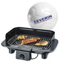SEVERIN Barbecue-Elektrogrill »PG 9710« mit Fussball
