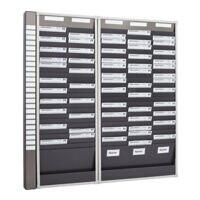 EICHNER Karten-Board Starter-Set für DIN A4-Belege 133 x 135 (2x25 Fächer und 3x25 Fächer)