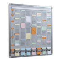 EICHNER T-Card Systemtafel 7+1 (35 Fächer)