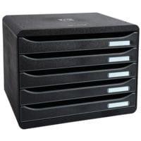 EXACOMPTA Schubladenbox »Classic«  5 Schubladen quer