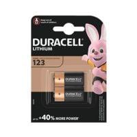 Duracell 2er-Pack Foto-Batterie »Photo Lithium Ultra« 123 / CR17345
