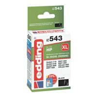 Edding Tintenpatrone »EDD-543« ersetzt HP »F6U68AE« Nr. 302 XL