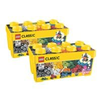 LEGO Bausteinebox »Classic« 10696, 2er-Set, insgesamt 968 Teile