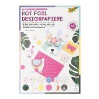 folia Designpapierblock »Hotfoil II«