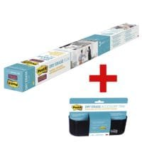 Post-It Dry Erase Folie »DEF6x4-EU« inkl. Dry Erase Ablagekorb »DEFTRAY-EU«