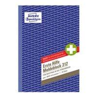 Avery Zweckform Erste-Hilfe-Meldeblock »312«