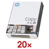 20x A4 HP Copy - 10000 Blatt gesamt, 80g/qm