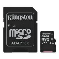 Kingston microSDXC-Speicherkarte »Canvas Select SDCS/64GB«