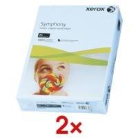 2x Farbiges Papier A4 Xerox Symphony - 1000 Blatt gesamt
