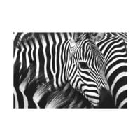 Paperflow Wandbild »Zebra«