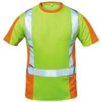 elysee Warnschutz T-Shirt Klasse 2 Größe M