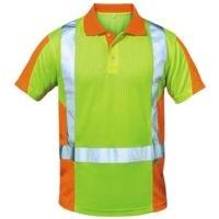 elysee Warnschutz Polo-Shirt Klasse 2 Größe XXL