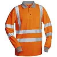 elysee Warnschutz Langarm-Polohemd »ANTONIO - safestyle®« Größe 3XL