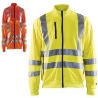 Blakläder Warnschutz Sweatshirt HIGH-VIS »3358« Größe S