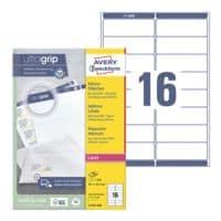 Avery Zweckform 1600er-Pack Adress-Etiketten mit ultragrip »L7162-100«