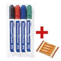 OTTO Office 4er-Pack Whiteboard-Marker inkl. Kaubonbons »Karamell Riesen«