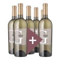 Rindchen's Weinkontor 6er-Pack Weißwein »2017 Marnasse & Voignier Grap G, Cellier d'Eole«