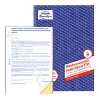 Avery Zweckform Formularbuch »Mitarbeiterverpflichtungserklärung nach DSGVO 1764«