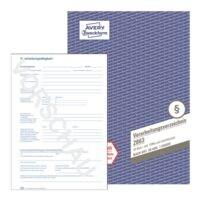 Avery Zweckform Formularbuch »Verarbeitungsverzeichnis nach DSGVO 2863«