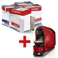 4x Öko-Box Multifunktionspapier OTTO Office Standard inkl. Tchibo Kaffeekaspelmaschine »Caffissimo PURE«