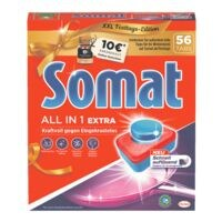 Henkel 56er-Pack Geschirrspültabs »Somat 10 All in 1 Extra Multi-Aktiv«