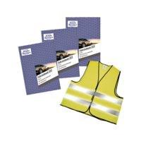 Avery Zweckform 3er-Aktionspack Fahrtenbuch »223« (A5 hoch) + 1 Warnweste Gratis