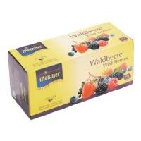 Meßmer Früchtetee »Waldbeere« Tassenportion, Papierkuvert, 25er-Pack