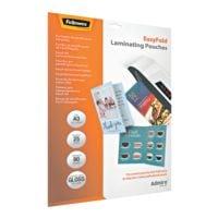 Fellowes 25 Stück Laminierfolien Admire™ EasyFold A3 80 mic