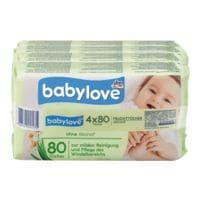 babylove 4er-Pack Feuchttücher