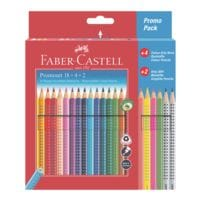 Faber-Castell (Schule) 24-Promo-Pack Buntstifte »Colour GRIP«