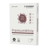 Recyclingpapier A4 Steinbeis PremiumWhite - 500 Blatt gesamt