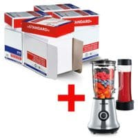 4x Öko-Box Multifunktionspapier A4 OTTO Office Standard - 10000 Blatt gesamt inkl. Multimixer+Smoothie Mix&Go »SM 3737«