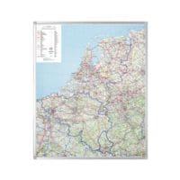 Legamaster Kartentafel »7-610100« Benelux Straßen