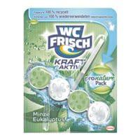 WC FRISCH WC-Reiniger und Duftspüler »pro nature Minze & Eukalyptus«