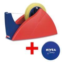 tesa Tischabroller »Easy Cut« 57422 inkl. Hautpflegecreme »Nivea«